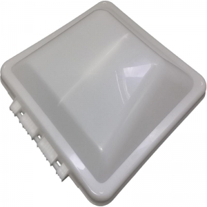 """REPLACEMENT PLASTIC LID, NON POWERED - SUITS NEW STYLE VENTLINE 14'' X 14"""" VENT"""