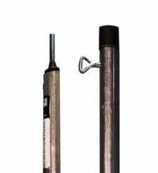 TENT POLE STANDARD GALVANISED 19/22.2MM 230CM TWO PIECE