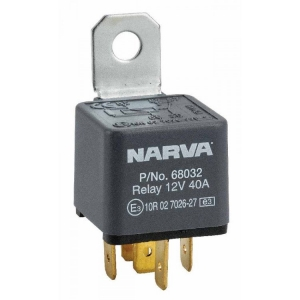 NARVA 12V 40A NORMALLY OPEN 5 PIN RELAY WITH DIODE