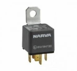 NARVA 24V 30A NORMALLY OPEN 5 PIN RELAY WITH DIODE
