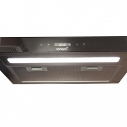 SPHERE 12V TOUCH CONTROL RANGEHOOD WITH CLOCK