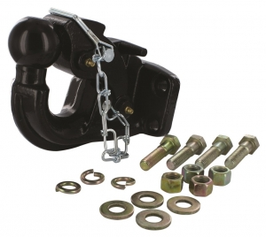 HAYMAN REESE PINTLE HOOK FORGED COMBO 50MM TOW BALL 8T
