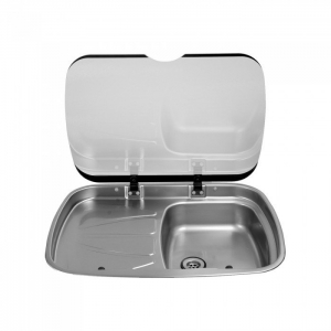 SPINFLO MK3 ARGENT SINK L/H DRAIN