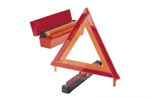 NARVA EMERGENCY SAFETY TRIANGLE HEAVY DUTY CONTAINER - SET OF 3
