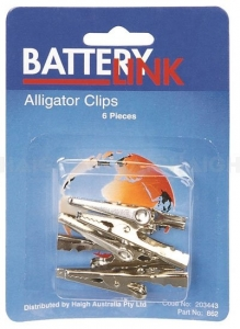 BATTERY LINK BATTERY TEST CLIP 10A 6 PACK