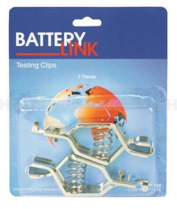 BATTERY LINK BATTERY TEST CLIP 50A 2 PACK