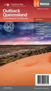 HEMA OUTBACK QUEENSLAND MAP 4TH EDITION