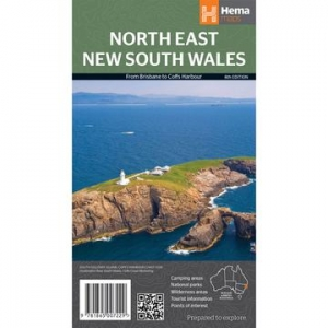 HEMA NORTH EAST NEW SOUTH WALES MAP