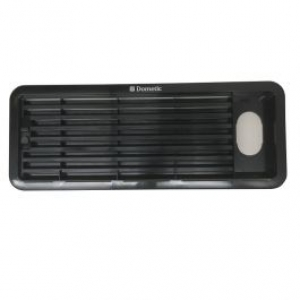 DOMETIC FRIDGE VENT LARGE UPPER INSERT TO SUIT AS1625U CURRENT STYLE BLACK