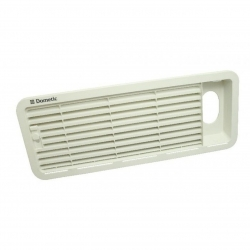 DOMETIC FRIDGE VENT LARGE UPPER INSERT TO SUIT AS1625U CURRENT STYLE WHITE