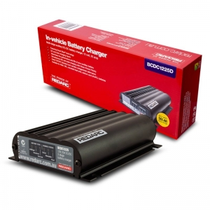 REDARC DUAL INPUT 25A IN VEHICLE DC BATTERY CHARGER