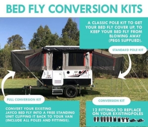 BED FLY CONVERSION KIT
