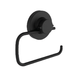 NALEON INSTALOC BLACK TOILET ROLL HOLDER