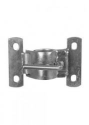 BOAT CLAMP 75MM (3 INCHES) GALVANISED U-BOLT FIX