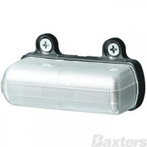 ROADVISION 10-30V LED LICENCE PLATE LAMP - CLEAR