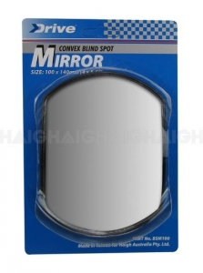 BLIND SPOT MIRROR CONVEX 100MM X 140MM