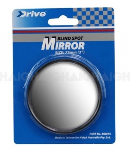 BLIND SPOT MIRROR SELF ADHESIVE 75mm/3""