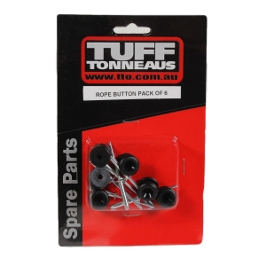 ROPE BUTTON 6PK - TO REPLACE TONNEAU ANCHOR POINTS
