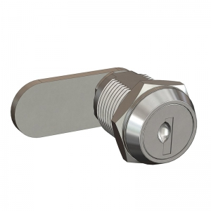 COMPARTMENT LOCK - CHROME PLATED 16mm