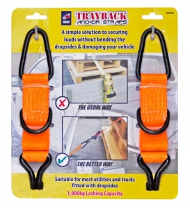 TRAYBACK ANCHOR STRAPS LARGE