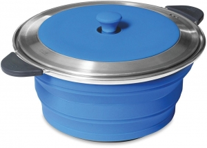 COMPANION POPUP STOCKPOT AND LID 2.6L - BLUE