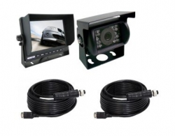 "CARAVAN CAMERA & MONITOR 7"" 4 PIECE KIT INCLUDES 2 CABLES"