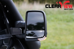 CLEARVIEW TOWING MIRRORS NEXT GEN FORD TERRITORY BLACK ELEC ALL MODELS
