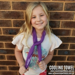 COOLING TOWEL STAY COOLER FOR LONGER KIDS & GROWN UPS