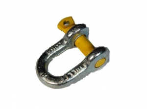 D SHACKLE RATED 1.0T WLL (9.5MM)