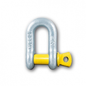 D SHACKLE RATED 2.0T WLL (12.5MM)