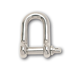 ARK STAINLESS STEEL D-SHACKLE 10MM