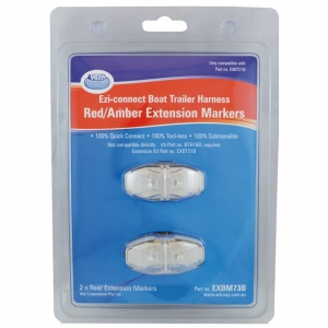 ARK EZI CONNECT BOAT TRAILER HARNESS RED/AMBER EXTENSION MARKERS