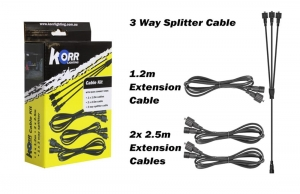 LED EXTENSION CABLE PACK