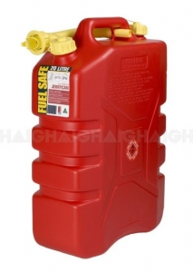 FUEL CAN RED 20LT PLASTIC
