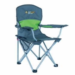 OZTRAIL DELUXE JUNIOR CHAIR GREEN