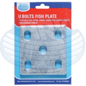 ARK GALVANISED FISH PLATE SUITS 39-50MM U-BOLTS