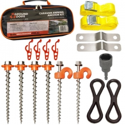 GROUND DOG ROLLOUT AWNING ANCHOR KIT V2