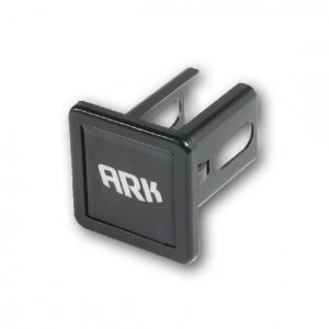 ARK HITCH RECEIVER/COVER - BLACK