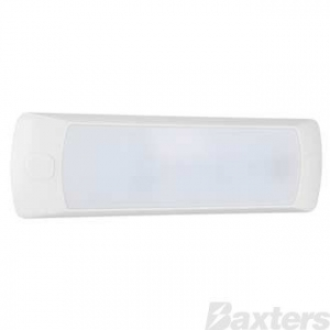 BAXTERS 12V LED INTERIOR LAMP RECTANGLE TOUCH SENSOR 176 x 50 x 13MM - WHITE