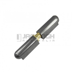 HINGE STEEL PIN 10 X 60MM WITH BRASS PIN & WASHER