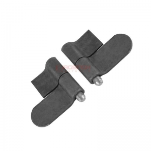 WELDABLE HINGE BLACK LEFT & RIGHT HAND FOR TRAYS
