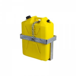 JERRY CAN HOLDER LOCKABLE GALV