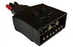JAYDEE 9 PIN FLAT TRAILER CONNECTOR