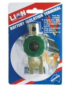 LION BATTERY TERMINAL, 1pce, ISOLATION TYPE