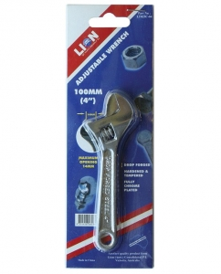 LION ADJUSTABLE  WRENCH 100MM (4'')