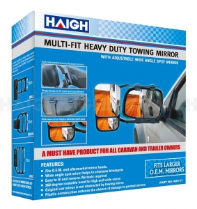 MIRROR TOWING ADJUSTABLE STRAP ON
