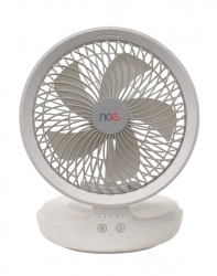 NCE 12V OSCILLATING FAN WITH LIGHT WHITE