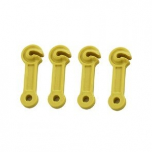 ROPE RUNNER F-SHAPE YELLOW POLYCARBONATE