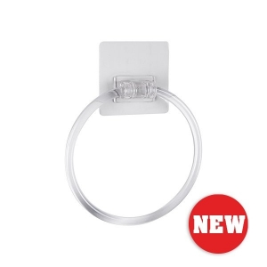NALEON PEEL 'N' STICK TOWEL RING