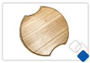 ROUND CHOPPING BOARD 357MM DIA. SUIT SINK 8545R